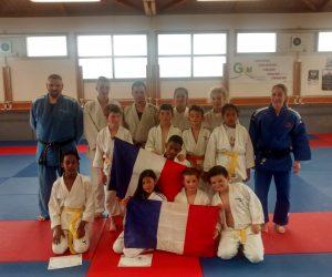 Buxerolles Judo soutien l'équipe de France