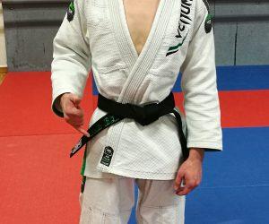 Une nouvelle ceinture noire au club !