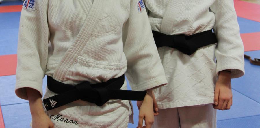 2 Nouvelles ceintures noires au club !