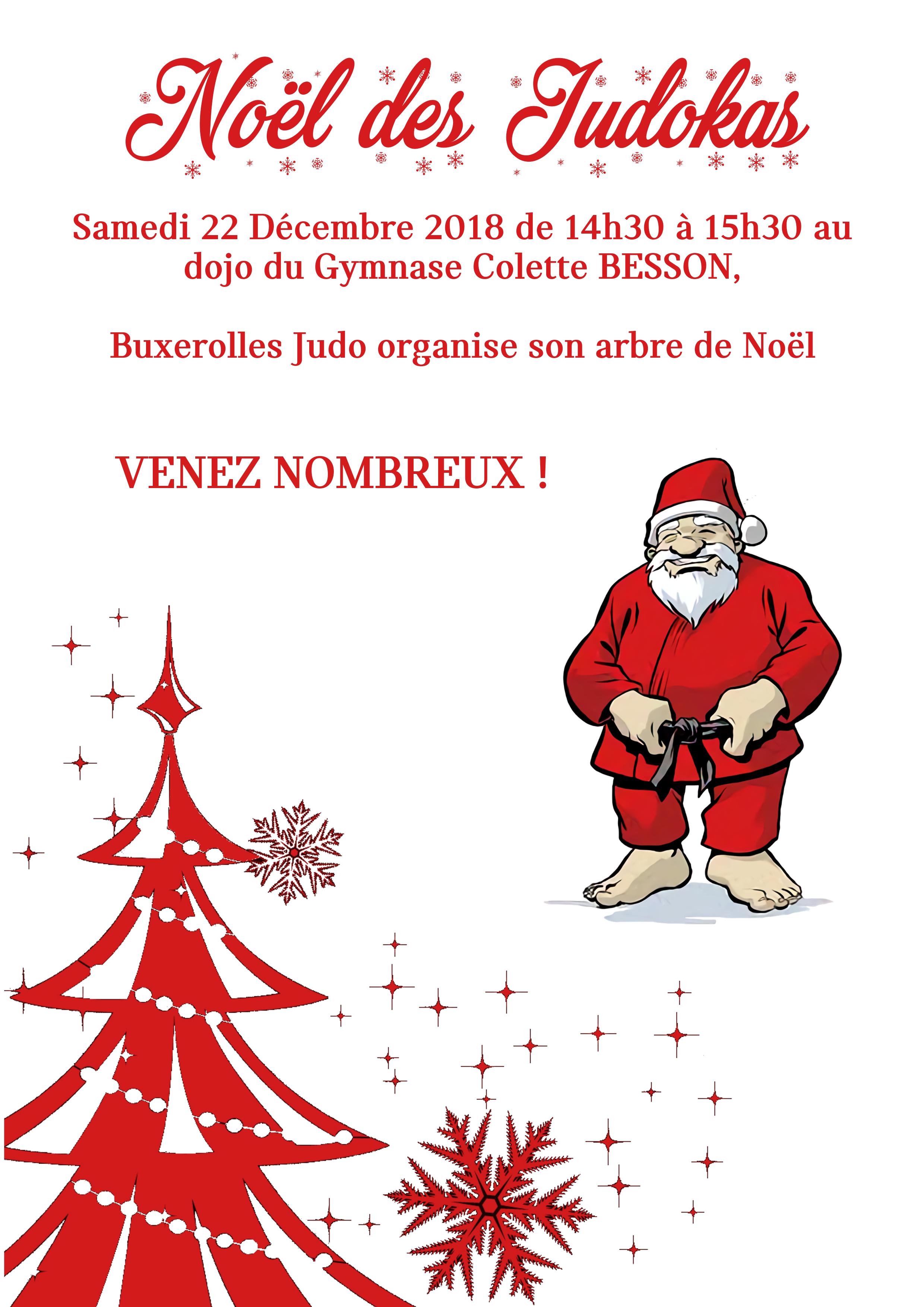 Noël des Judokas 2018